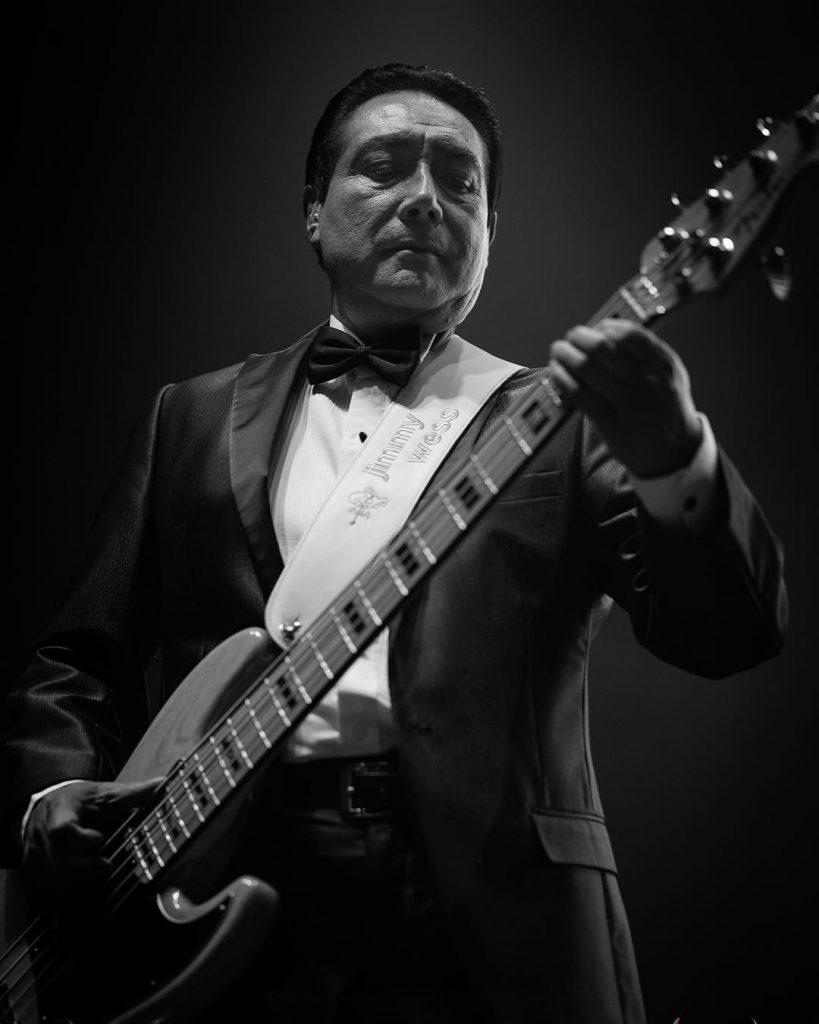 Elías Mejía Avante - Bajista de Los Ángeles Azules
