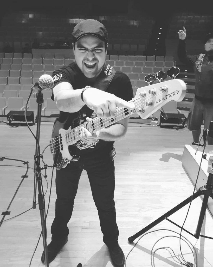 Ricardo Trujillo Muela Bajista de José Madero / Los Albinos